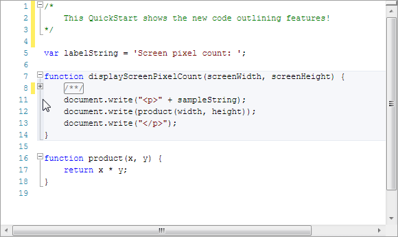 CodeOutlining