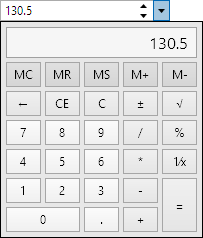 DoubleEditBoxOpenedCalculator