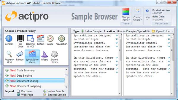 SampleBrowser
