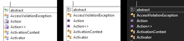SyntaxEditorIconSets