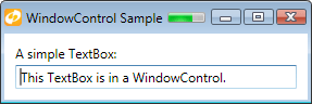 WindowControl