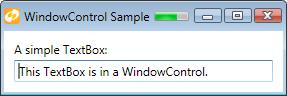 WindowControl